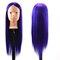 الشعر التدريب المعرضة الممارسة رئيس ارتفاع درجة الحرارة الألياف صالون نموذج مع المشبك مضفر الشعر - 12