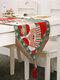 Chemin de table de bonhomme de neige de wapiti de Noël Joyeux décor de Noël pour des ornements à la maison - #01