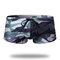 Mens Mini Short Camo Swimwear Penis Pouch Design Nylon Cordão Quick Dry Ealstic Swim Trunks
