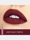 10 Farben Velvet Matte Lip Glaze Wasserdichte, nicht markierende Lipgloss-Kosmetik - #09