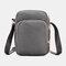 Women 3 Layer Waterproof Phone Bag Crossbody Bag - Grey