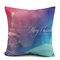 45X45cm Christmas Fashion Cotton Linen Pillow Case Santa Claus Snowmen Gift Home Decor - #1