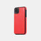 Multifunctional Leather Card Holder Wallet Phone Case For iPhone - Red