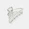 幾何学的な金属の髪の爪半円の月の形のヘアクリップ爪マットヘアピンヘアアクセサリー  - 5