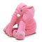 <US Instock>Large Elephant Soft Sleep Pillow Animals Plush Toy For Baby Sleep Cushion - Pink