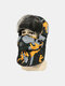 Men Cold-proof Winter Camouflage Pattern Trapper Hat Thick Winter Hat Ear Protection With Mask Trapper Hat - Yellow