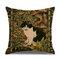 Retro Style Cats Leinen Baumwolle Kissenbezug Home Sofa Art Decor Throw Kissenbezug - #2
