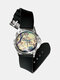 Casual Landscape Printed Men Watch Forest Leaves Flowers Pattern Women Quartz Watch - #07