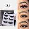 3D False Eyelashes Set Magnetic Eyeliner Liquid Natural Magnet Eyelashes Eye Makeup Eye Cosmetics - 03