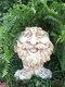 1 pieza divertida expresión Muggly's The Face estatua jardinera jardín hilo escultura decoración flor planta maceta - #06