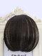 Mini Bangs Air Bangs Hair Extensions No-Trace Bangs Wig Piece - MN42 Brown Black