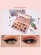 15 Colors Sequins Glitter Earth Color Eyeshadow Palette Pearlescent Waterproof Eye Makeup - #02
