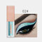 15 Colors Glitter Liquid Eyeshadow Portable Waterproof Lasting Pigmented Professional Eye Cosmetics - #02