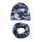 Cool Boy Print Sombrero Set de bufanda para 0-4 años - 5