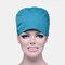 Solid Color Scrub Cap Surgical Hat Nurse Doctor Cap Veterinarian Hat  - Lake Blue