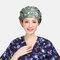 Surgical Caps Scrub Cap Cotton Fabric Nurse Hat Collar Surgery Skull - 06