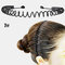スポーツスタイル男性女性ヘッドバンドヘアピンフェイスウォッシュバックプレッシャーヘアノンハートヘアヘアアクセサリー - 7