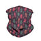 Printed Mask Breathable Turban Windshield Dust-proof Face Mask   - 02