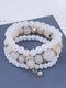 Vintage Multicolor Beautiful Opal Bracelet Temperament Multi-layer Tassel Bracelet - #10