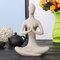 Yoga Lady Ornament Figurine Home Indoor Outdoor Garden Buddha Statue Desk Decoration  - #1