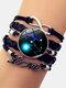 Vintage Twelve Constellation Women Bracelet LOVE Letter Multilayer Bracelet - Taurus