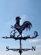 Garden Farm Iron Rooster Dragon Dog Horse Home Weathercock Weather Vane Wind Direction Indicator Yard Measuring Tools - #05