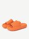 Frauen große kurze bequeme Sommer lässig Hausschuhe - Orange
