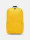 Oxford Multicolor Minimalist Stress Reliever Splashproof Breathable Outdoor Travel Backpack - Yellow