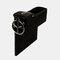 Boîte de rangement pour siège de voiture Boîte de rangement pour pièces de monnaie en cuir multifonction - Noir2