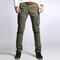 Men's Cargo Pants Multi Pockets Outdoor Camo Casual Pants - Army Green