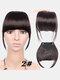 Air Bangs Wig Piece Chemical Fiber No-Trace Seamless Bangs Hair Extensions - #02