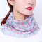 Women Breathable Thin Face Mask Open Riding Veil Shade Sunscreen Triangle Silk Scarf Neck Mask - #03