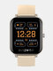 [Bluetooth Call]7x24h Heart Rate Monitor 60+ Watch Faces Weather Display Music Control Smart Watch - Gold