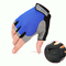 Men's Women Half Finger Gloves Outdoor Tactical  Multifunction Climbing Cycling Antiskid Mittens - Blue