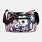Women Nylon Print Waterproof Anti theft Casual Crossbody Bag Shoulder Bag - #03