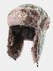 メンズカモ防寒冬用トラッパーハット厚手の冬用ハット耳保護トラッパーハット - #03