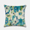 Tropical Flower Pillowcase Hand-Painted Rainforest Digital Printed Linen Without Core - #1