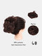 30 Colors Big Steel Fork Hair Ring Wig Updo Cover Fluffy Chemical Fiber Wig Piece - #03