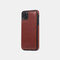 Multifunctional Leather Card Holder Wallet Phone Case For iPhone - Brown