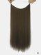 10 цветов длинные прямые Волосы удлинители химического волокна без следов ложные Волосы шт. - #02
