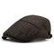رجل الشتاء رشاقته دافئ القطن قبعة قبعة قابل للتعديل فوج عارضة الصلبة قبعة إلى الأمام