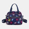 Women Nylon Waterproof Casual Handbag Crossbody Bag - #05