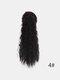 11 цветов кукуруза Пермский хвост Волосы Расширения пушистые длинные вьющиеся Парик шт. - #04