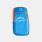 6.3 Inch Phone Holder Fitness Running Outdoor Cycling Sport Coin Key Wrist Wallet Arm Bag - Blue 2