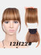 Air Bangs Wig Piece Chemical Fiber No-Trace Seamless Bangs Hair Extensions - #05