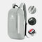 Men Polyester 10L Lightweight Large Capacity Wear-resistance Easy Carry Outdoot Travel Hiking Backpack - Grey