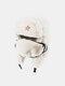 男性と女性の防寒冬用トラッパーハットマスクトラッパーハット付きの厚い冬用ハット耳栓 - #15