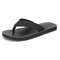 Men Casual Light Weight Hard Wearing Brief Clip Toe Slippers - Black