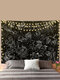 Hand Pattern Black White Tapestry Wall Hanging Tapestries Living Room Bedroom Decoration - #04