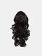 4 цвета длинное вьющееся волокно Парик повязки Волосы высокотемпературное - #04